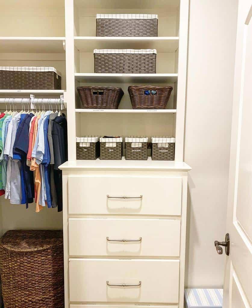 closet storage ideas lessisliving