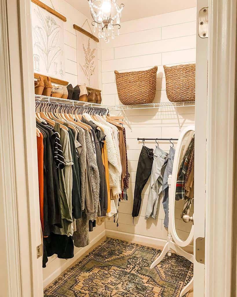 closet storage ideas olivebranchcottage