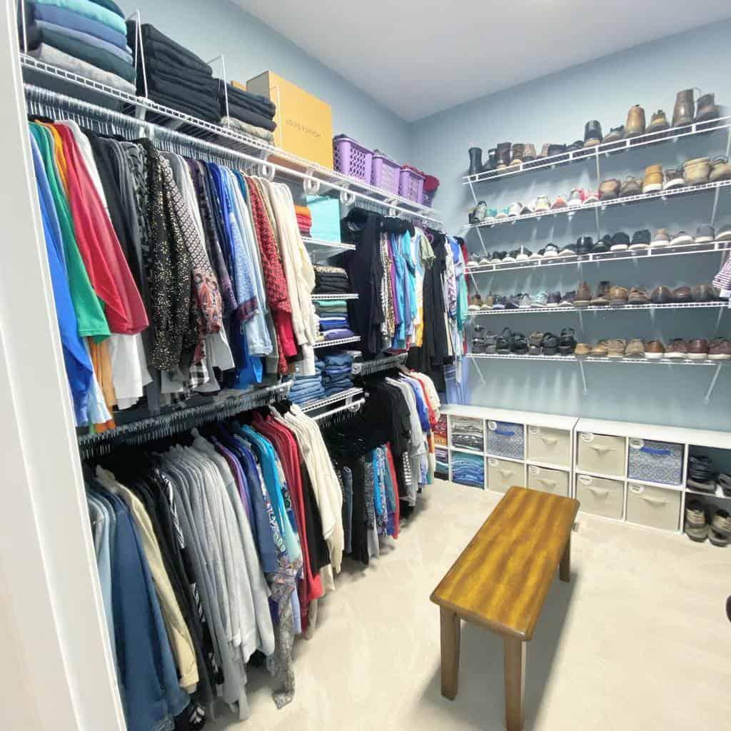 closet storage ideas organizedbymorgan