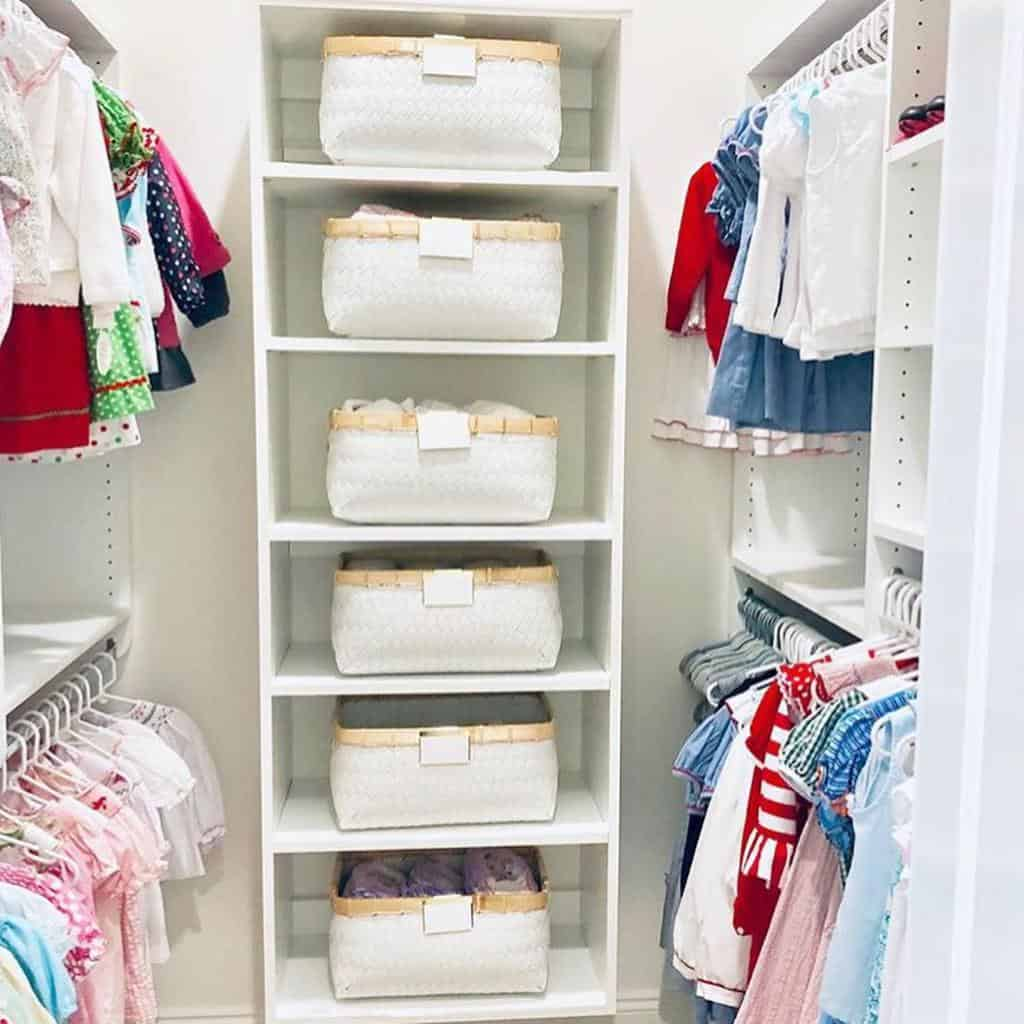 closet storage ideas thehomeorganized_