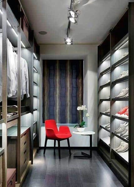 Closet Track Lighting Idea Inspiration