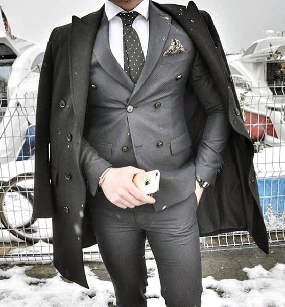 Clothes For Guys Trendy Outfits Styles Black Suit With Coat