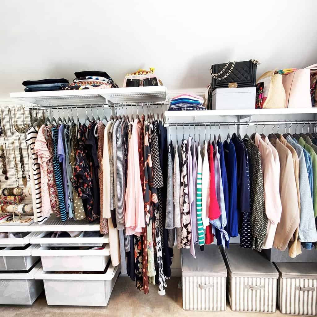 clothes storage ideas home_organize