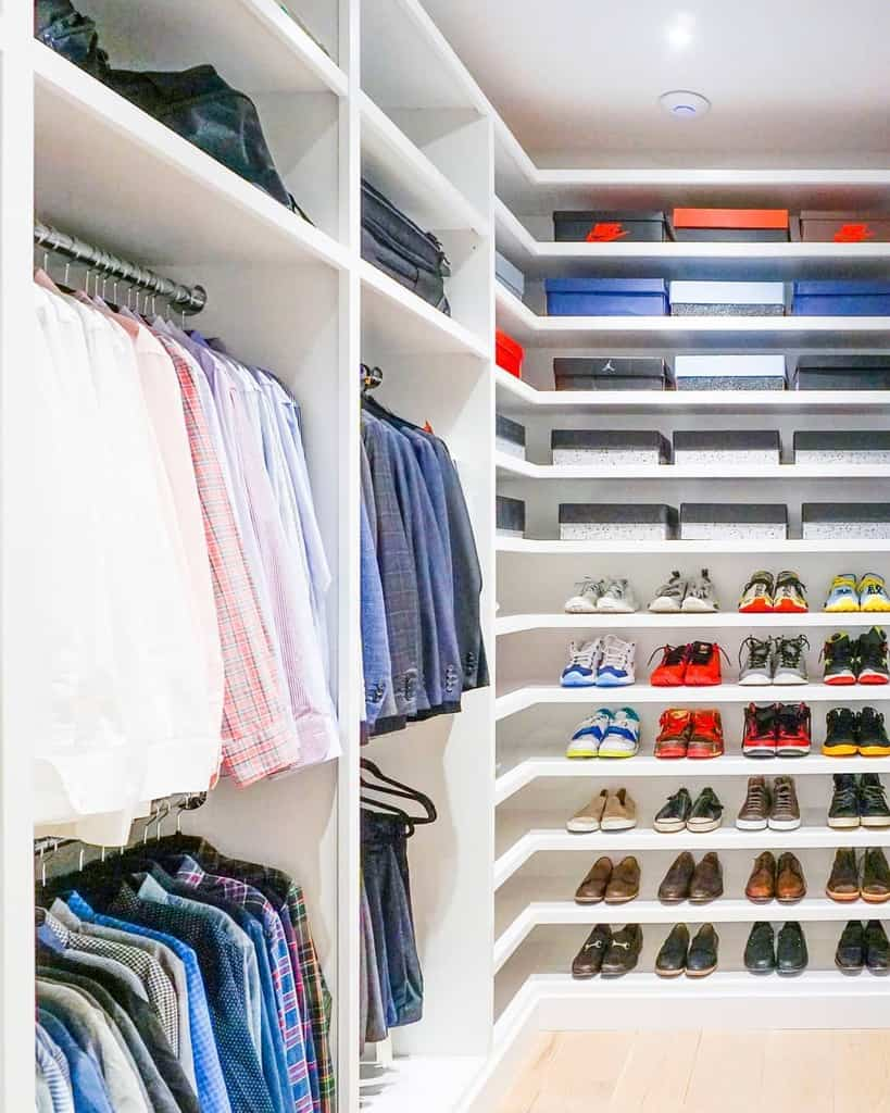 clothes storage ideas horderly