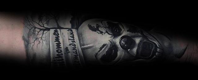 Clown Tattoos For Men