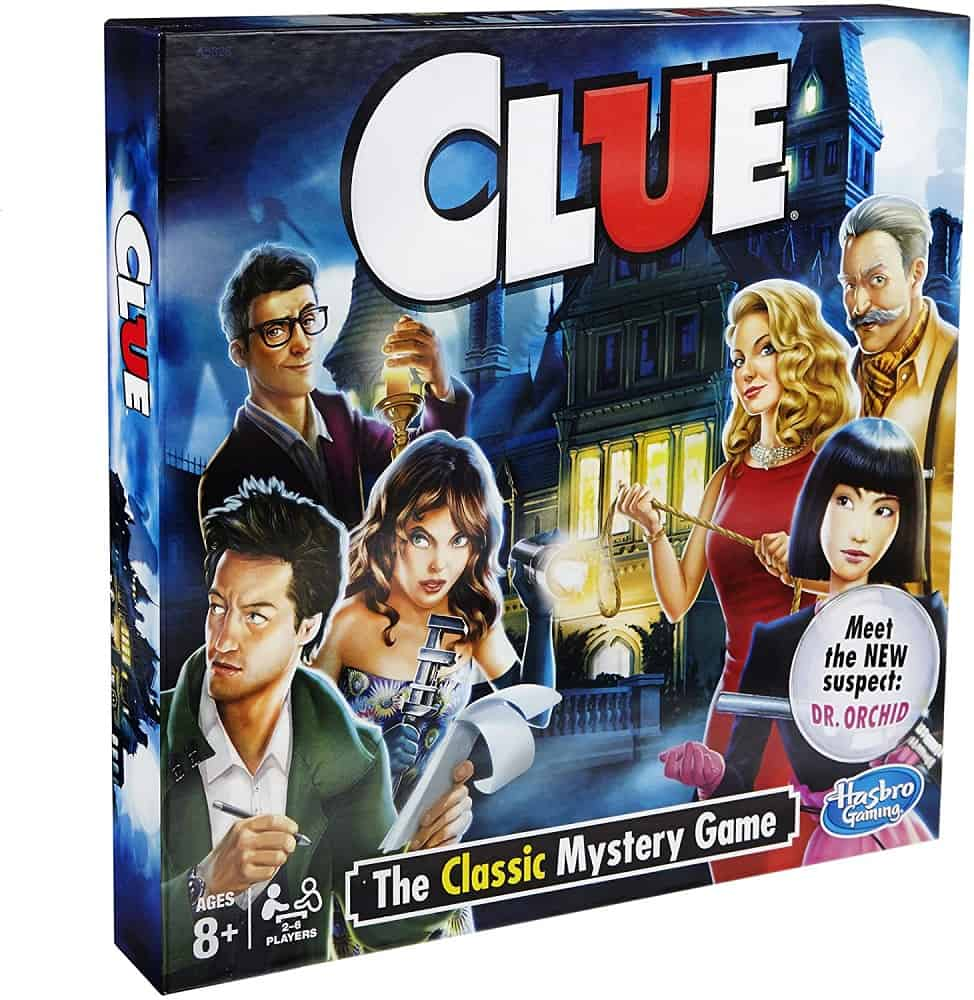 clue the classic mystery adult board game