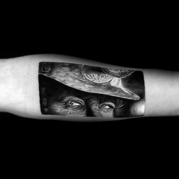 Coal Mining Tattoo Inspiration For Men