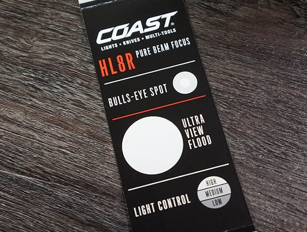 Coast Hl8r Headlamp Light Beam Flood