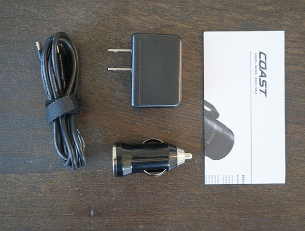 Coast Px1r Included Accessories
