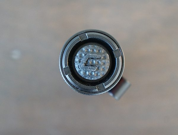 Coast Px1r Rear Flashlight Rubber Button