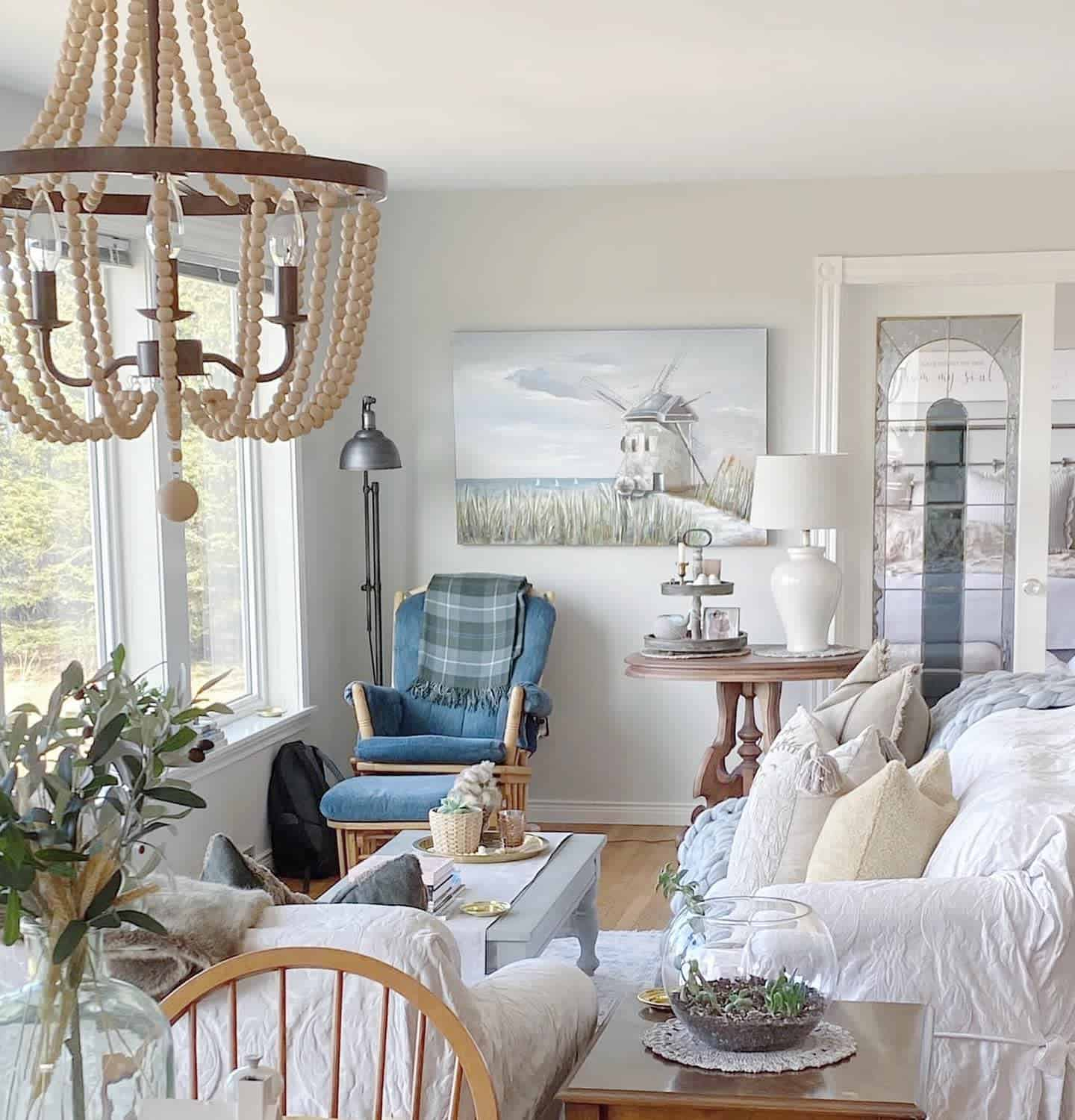 Coastal Farmhouse Farmhouse Living Room Ideas Seaedgecottage