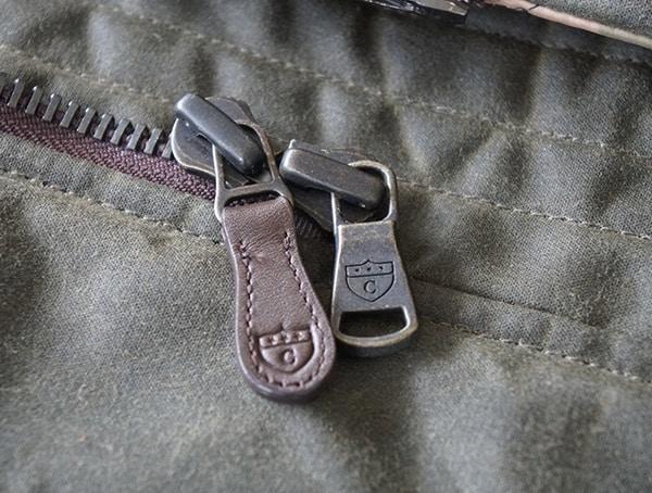 Cockpit Usa Mountain Ranger Parka Metal And Leather Zipper Details