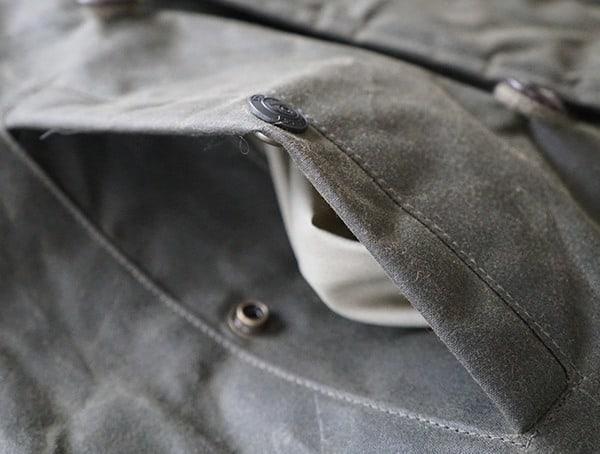 Cockpit Usa Mountain Ranger Parka Opened Side Pocket