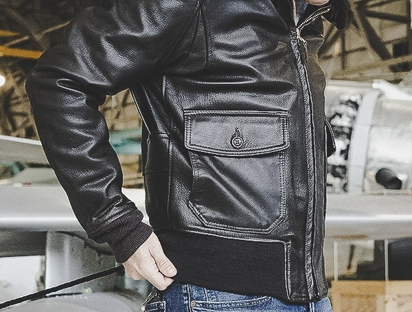 Cockpit Usa Review G 1 Flight Goatskin Brown Leather Jacket For Men