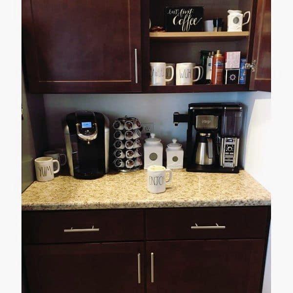 Home Coffee Bar Design Ideas