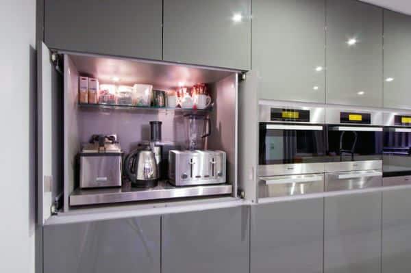 Coffee Bar Ideas Kitchen Cabinets
