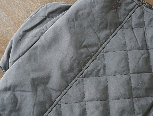 Collar Back Dakota Grizzly Vic Quilted Vest For Men