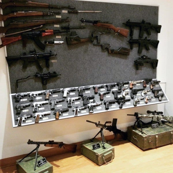 Collectors Armory Gun Room