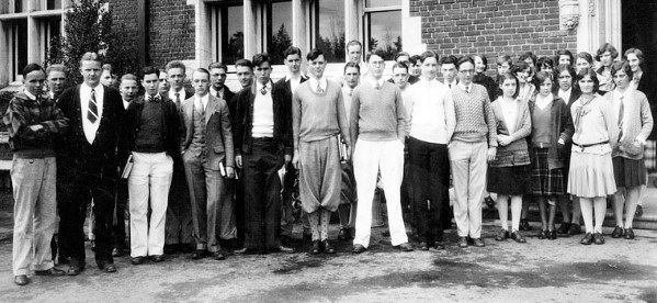 College 1920s Fashion For Men