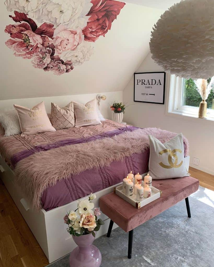 color bedroom ideas for women home_byhesho