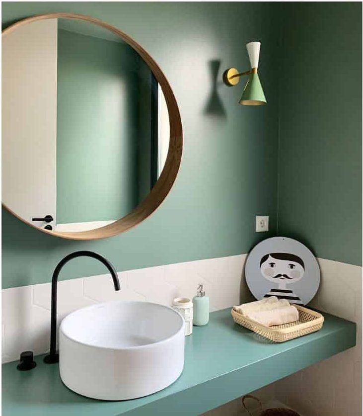 Color Cute Bathroom Ideas Galansobrini Arquitectos