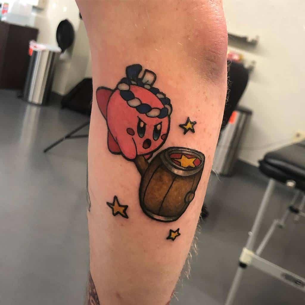 Color Kirby Tattoos Ninakauffman