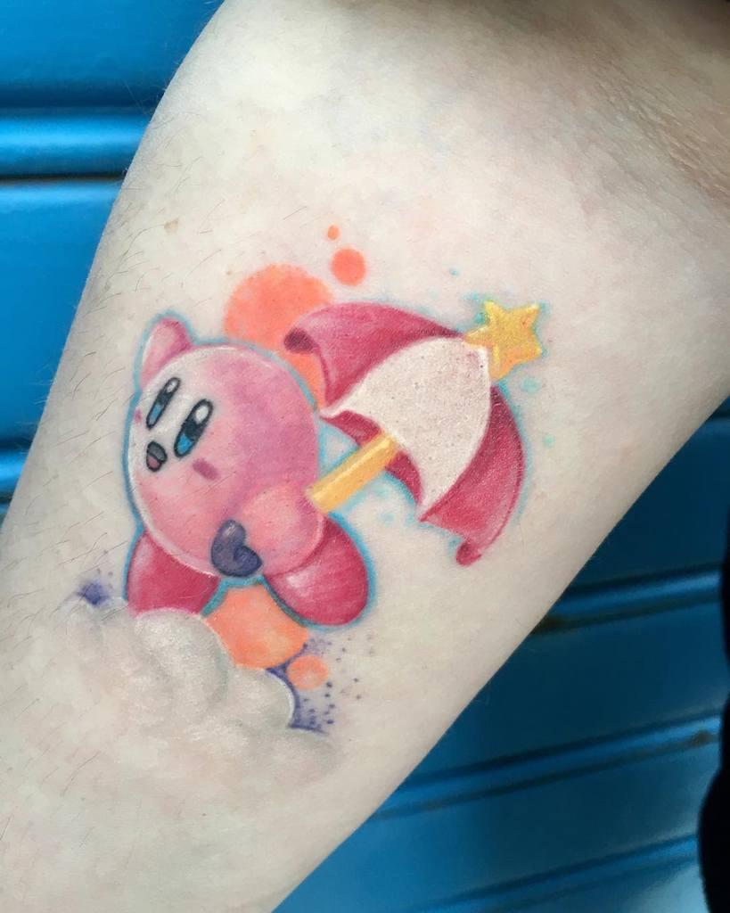 Color Kirby Tattoos Rocksteadytattoo Piercing