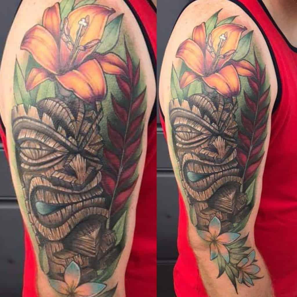 Color Tiki Tattoo Kristenprossertattoo
