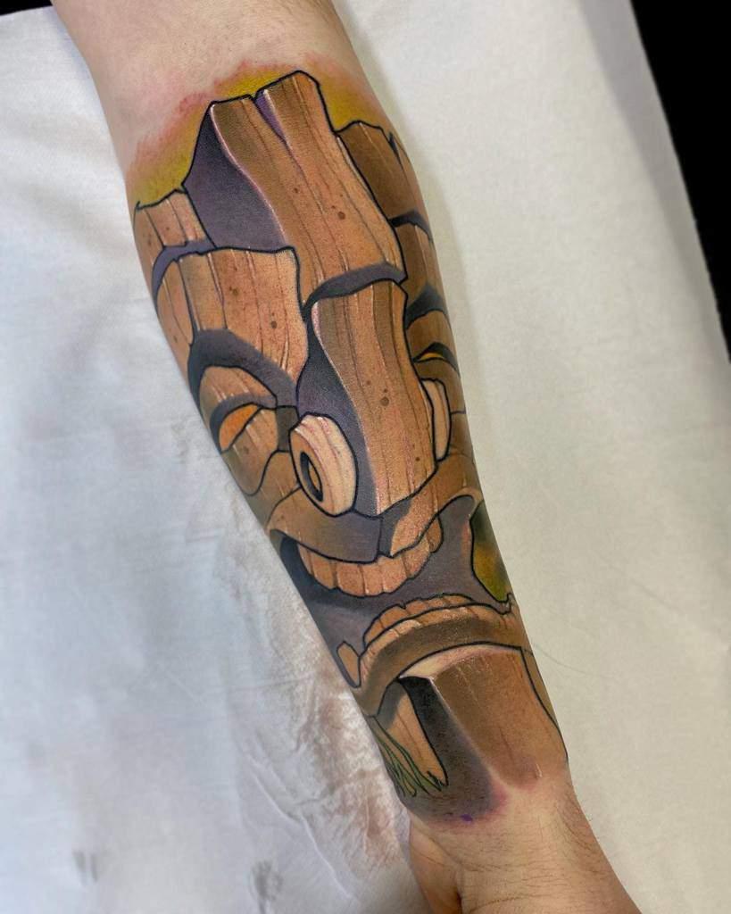 Color Tiki Tattoo Manuelmathow