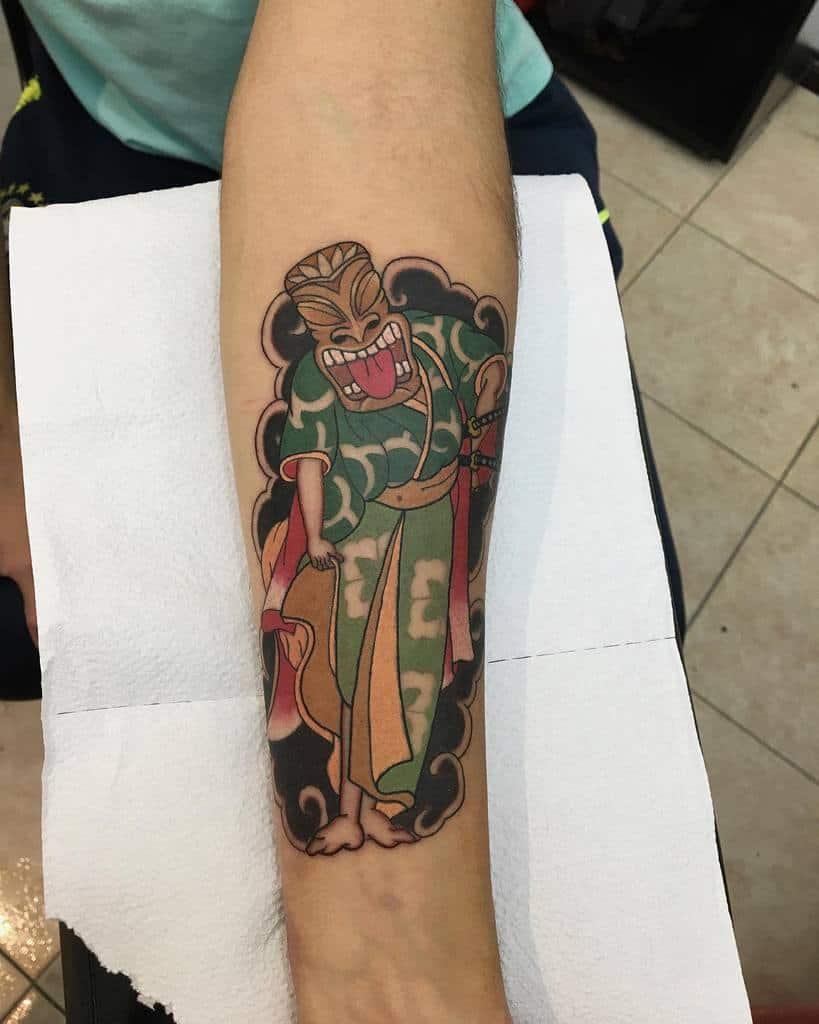 Color Tiki Tattoo Nahue Cdo