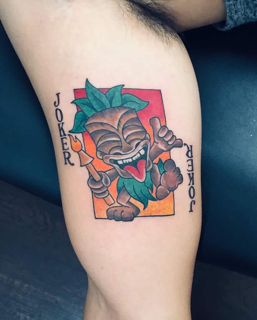 Color Tiki Tattoo Stevenhitchcock3310