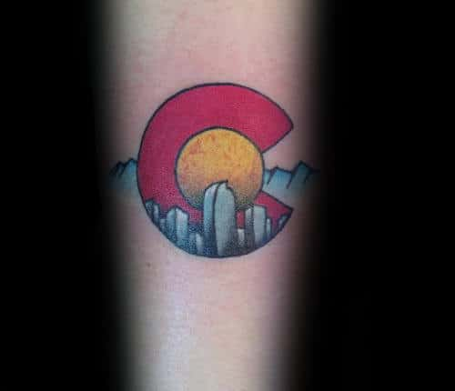 Colorado Small Guys State Tattoo Ideas On Forearm