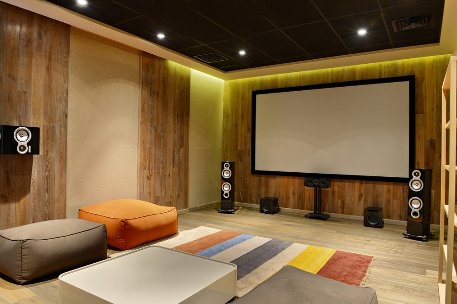 Home Theater Design Ideas Home Theater Masters: Top 70 Best Home Theater Seating Ideas