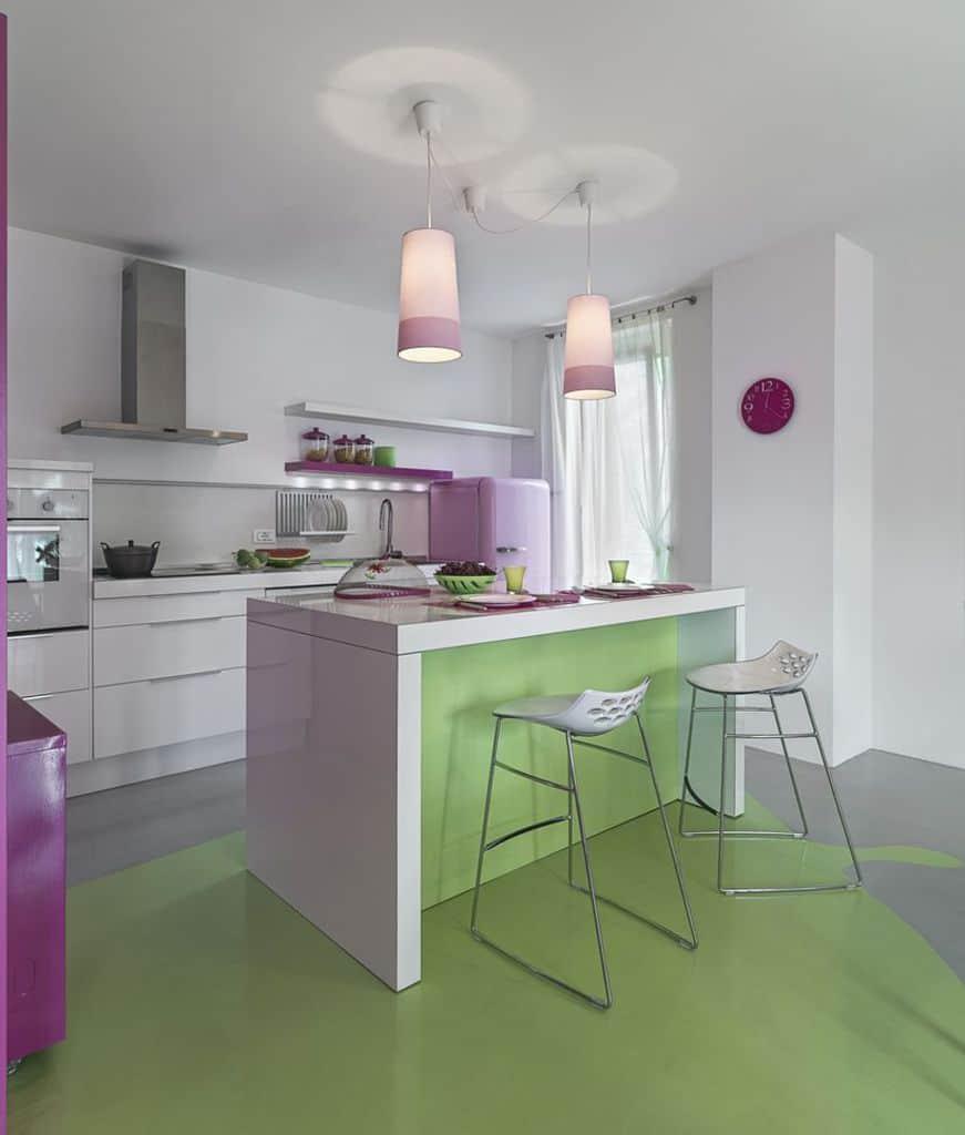 Colorful Interior Kitchen Paint Colors 1