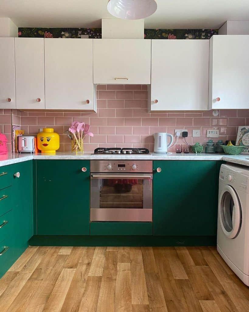 Colorful Interior Kitchen Paint Colors Tillyattwentysix
