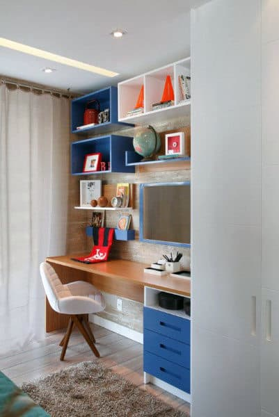 Colorful Small Home Office Ideas