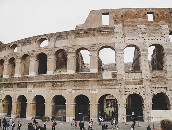 Colosseum Ancient Roman Gladiatorial Arena
