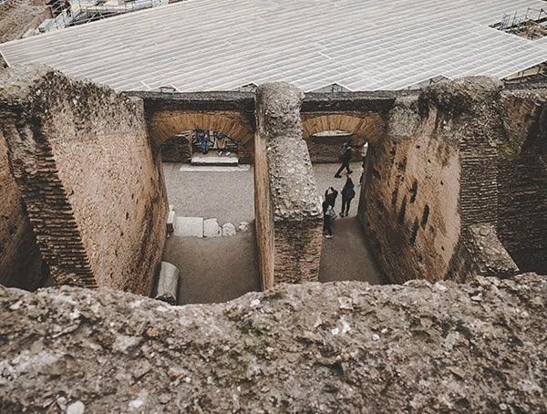 Colosseum Ancient Stone Construction