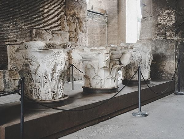 Colosseum Beam Column Stone Architecture