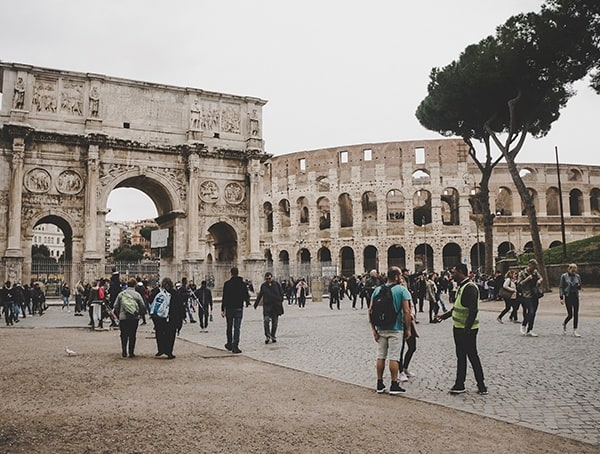 Colosseum From Outside Line