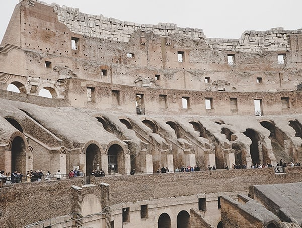 Colosseum Intact Inner Wall