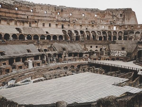 Colosseum Interior Rome