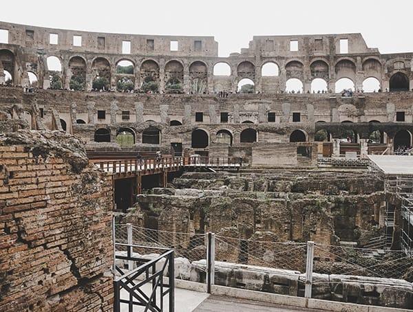 Colosseum Interior Tour