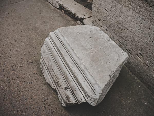 Colosseum Marble Architectural Details