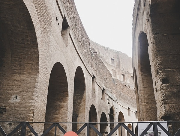 Colosseum Rome Italy Inside View