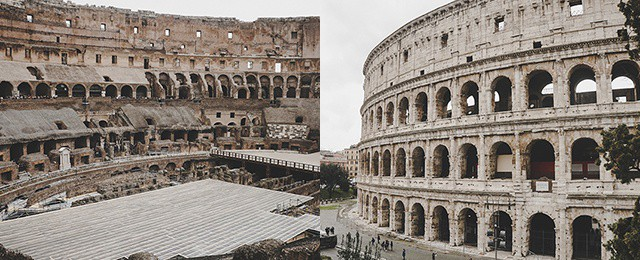 Colosseum Roman Amphitheater – Rome Italy Travel Guide Tour