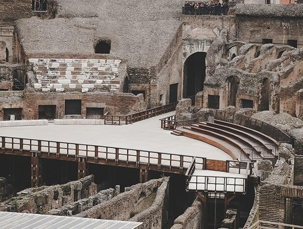 Colosseum Seating Interior