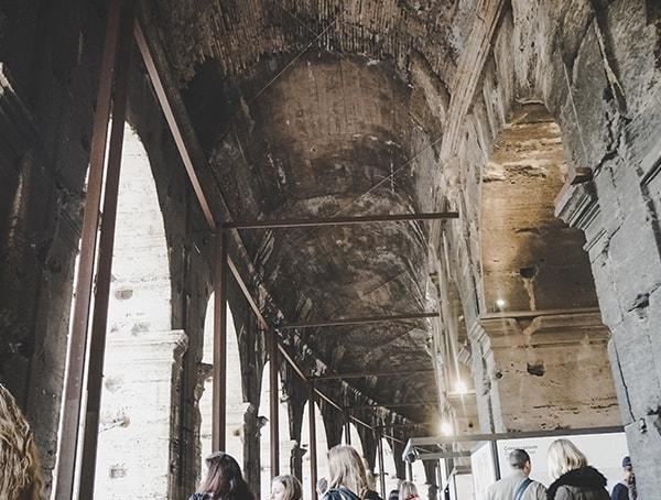 Colosseum Top Interior Ceiling