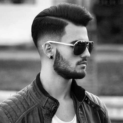 Comb Over Mens Hairstyles For Medium Hair