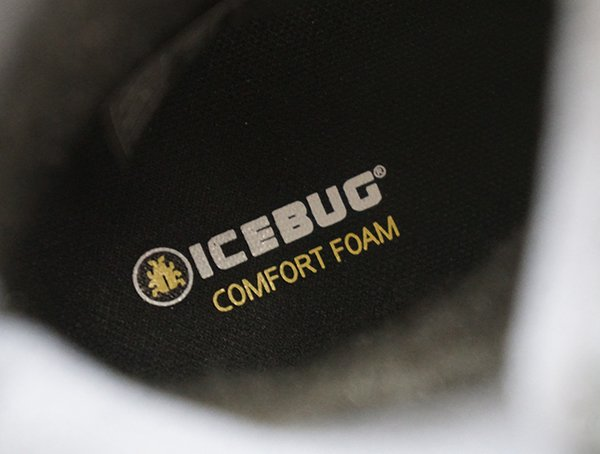 Comfort Foam Insole Mens Icebug Walkabout Boots With Bugrip Gore Tex